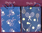 Paper Gift Bag Tennis Racquet and Ball (2pcs/pack) -New