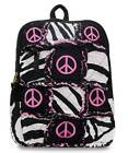 Patch Work RagBag Peace Backpack,Cotton Quilted Purse
