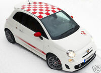 Fiat Abarth 500 Essesse style stickers