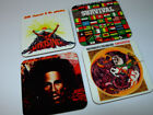 Bob Marley Album Cover COASTER Set