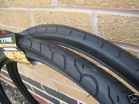 2 Kenda 26 x 1.5 KWEST Slick Cycle Town Bike MTB Tyres with 2 free coyote tubes