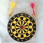 2 DART BOARDS 6 INCHES W 2 DARTS toy sport gift GI123 game board novelty new