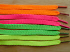 Flat Shoelaces, 95cm x 8mm wide. Laces for shoes, boots
