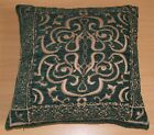 SET OF 4 CROWN DESIGN CUSHION COVERS 60 x 60CMS - GREEN