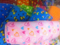 PRINTED polar FLEECE FABRIC 13designs anti pil FREE P&P