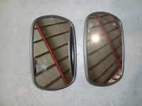JCB PARTS 3CX PAIR OF MIRROR HEADS
