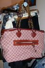 MARC JACOBS RARE TOTE QUILTED BAG WITH CHAIN HANDLES