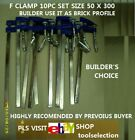 H-DUTY F CLAMP USE AS BRICK PROFILE 50x300mm - 10 PC