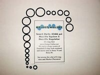 Smart Parts 4500 psi Max Flo O-ring Oring O ring Kit Paintball 2 rebuilds