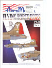 Aeromaster Decal 72-211 Flying Fortresses over Europe 2