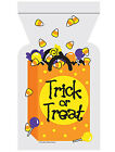 12 x Halloween Trick or Treat Loot Bags Self Seal Party treat favour bags