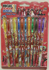 12 DIFFERENT COLOR OF DISNEY HIGH SCHOOL MUSICAL GLITTER INK BLINK PENS SY04b
