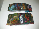 1995 ULTRA X-MEN ALL CHROMIUM - GOLD-FOIL SIGNATURE CARDS - PICK ONE
