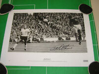 England Geoff Hurst Signed 1966 World Cup Final First Goal Photographic Print