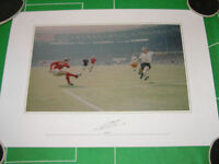 England Geoff Hurst Signed 1966 World Cup Final Second Goal Photographic Print