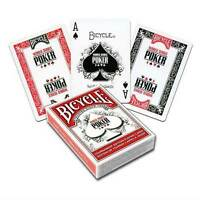 BICYCLE WSOP WORLD SERIES OF POKER PLAYING CARD single deck MAGIC TRICKS