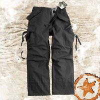 HELIKON GENUINE US M65 ARMY MILITARY COMBAT CARGO PANTS MENS TROUSERS NyCo BLACK
