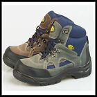 Wholesale Mens Lace Up Truka Steel Toe Safety Boots Sizes 7-12 x10pairs FOX
