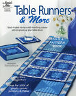 """""""TABLE RUNNERS w/COASTERS""""~Annie's PLASTIC CANVAS PATTERN BOOK~SEE PICTURES"""