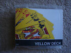 BICYCLE REVERSED BACK PLAYING CARDS - YELLOW DECK 2ND GENERATION - MAGIC TRICKS
