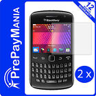 2 x BlackBerry Curve 9360 9350 9370 Clear LCD Screen Protector Film Guard Shield