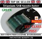 540 Needle Titanium Micro Needle Derma Skin Roller Therapy Wrinkles ALL SIZES mm