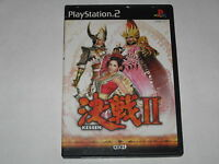 Kessen II Playstation 2 PS2 Japan import