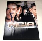 "NCIS CAST X5 PP SIGNED 12""X8"" POSTER N.C.I.S. M HARMON"