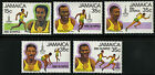 Jamaica 1980 Scott # 489-490a-d MNH Set