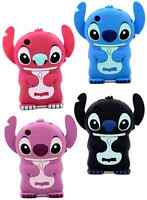 3D STITCH SOFT RUBBER SILICONE ONE PIECE PHONE CASE COVER for APPLE iPhone 3 3GS