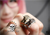 Lolita Fairy Lemony Snicket's Unfortunate Events adjustable Zebra magic ring