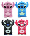 BOY GIRL 3D STITCH RUBBER SILICONE CASE COVER for SAMSUNG GALAXY S3 I9300 T999