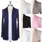 Shawl Collar Long Sleeve Cardigan with 2 Side Pockets Casual Cute Stylish Comfy