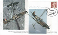 Battle of Britain Signed C Widdows  29 Sqn Battle of Britain Pilot