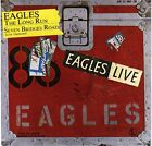 "EAGLES The Long Run (Live) & Seven Bridges Road PICTURE SLEEVE 7"" 45 rpm NEW"