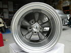 "15"" COYS C5 WHEELS CUSTOM HQ CHEV FORD MATTE GREY CENTERS ALLOY RIMS"