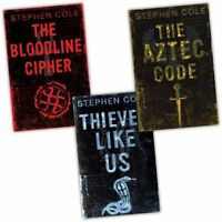 Steve Cole Thieves 3 Books Collection Pack Set RRP £20.