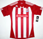10/11 Stoke City Home Football Shirt Soccer Jersey Top Kit England NEW FA Cup