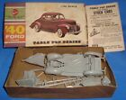 Old Vintage Plastic Kit of Ford Car in Box from U.S.A. 1960 Very Rare
