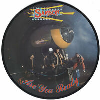 """SAMSON Are You Ready 1984   UK vinyl 7"""" PICTURE DISC EXCELLENT CONDITION"""