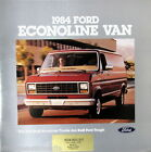 1984 Ford Econoline van new vehicle brochure