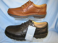 MENS SOFT LEATHER SHOES (CLARKS SIDMOUTH WAY H FITTING)