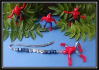 PERSONALISED SPIDERMAN BOOKMARK ANY NAME