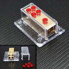 CAR/MARINE AUDIO STEREO POWER GROUND DISTRIBUTION BLOCK 4 GA IN  & 8 GA OUT