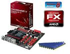 NEW AMD FX-6300 Six Core X6 CPU ASUS MOTHERBOARD 8GB DDR3 MEMORY RAM COMBO KIT