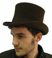 Campbell Cooper Brand New Classic English Best Quality Top Hat Brown S M L XL