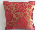 """Fashion Wine Red Velvet Flower Decorative Throw Pillow Cases Cushion Cover 17"""""""