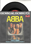 "ABBA Knowing Me, Knowing You & Happy Hawaii PICTURE SLEEVE 7"" 45 rpm BRAND NEW"