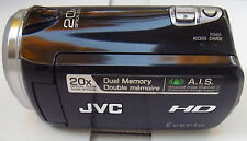 JVC Everio GZ HM320 8 GB High Definition (HD) Camcorder - Black