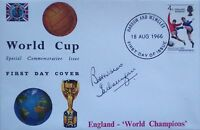 England 1966 World Cup signed FDC cover Ian Callaghan PROOF Liverpool legend